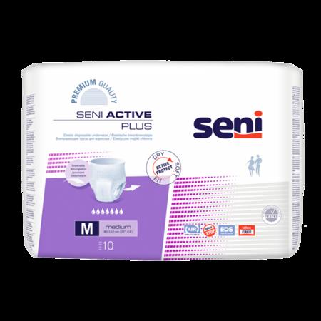 Pieluchomajtki / majtki chłonne Seni Active Plus  A10