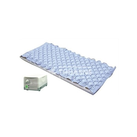 Pneumatyczny materac zmiennociśnieniowy z kompresorem