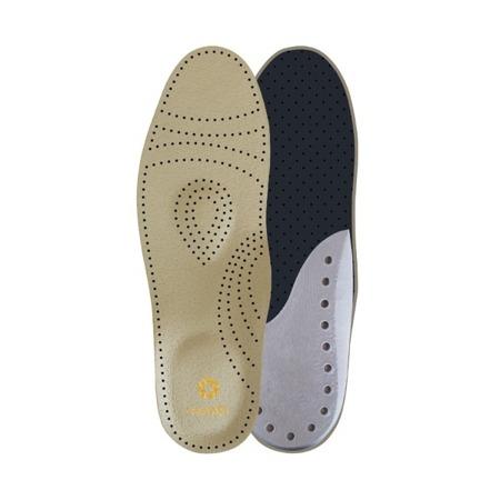 Wkładki ortopedyczne na płaskostopie i ostrogę piętową - CARLO - Mikrofibra