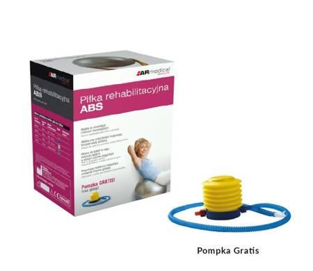 piłka rehabilitacyjna ABS 55 cm