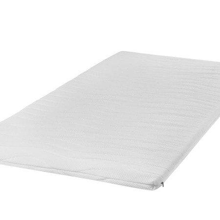 profilowany materac nawierzchniowy QMED 90x200x4 cm