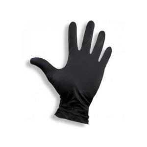 rękawice winylowe bezpudrowe 100 szt Vinylex czarne